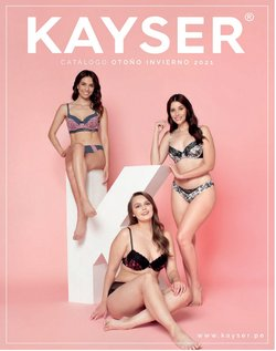 Ofertas de Ropa, zapatos y complementos en el catálogo de Kayser ( Más de un mes)