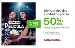 Ofertas de Viajes y ocio en el catálogo de Cinemark en Huacho ( Publicado hoy )