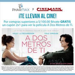 Ofertas de Cinemark  en el folleto de Lima