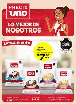Ofertas de Supermercados en el catálogo de Hiperbodega Precio Uno ( Vence hoy)