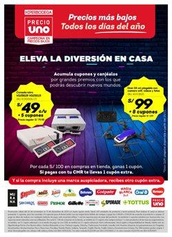 Catálogo Hiperbodega Precio Uno en Lima ( 17 días más )