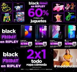 Ofertas de Tiendas por departamento en el catálogo de Ripley en Huánuco ( Caduca mañana )