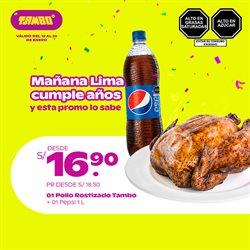 Ofertas de Supermercados en el catálogo de Tambo en Huánuco ( Caduca hoy )