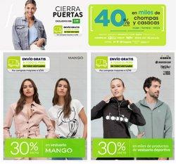 Ofertas de Tiendas por departamento en el catálogo de Saga Falabella ( Vence hoy)