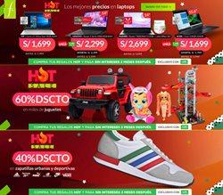 Ofertas de Tiendas por departamento en el catálogo de Saga Falabella en Huacho ( Caduca mañana )
