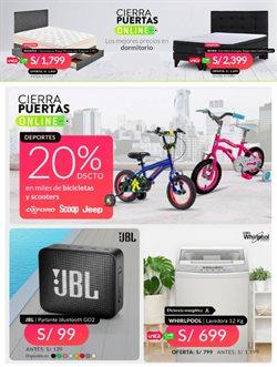 Ofertas de Tiendas por departamento en el catálogo de Saga Falabella ( 3 días más )