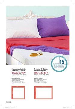 Ofertas de Funda de colchón  en el folleto de Dupree en Lima