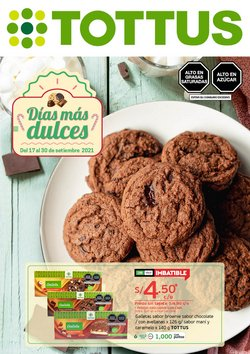 Ofertas de Supermercados en el catálogo de Tottus ( 3 días más)