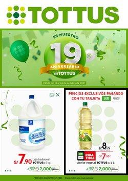 Ofertas de Supermercados en el catálogo de Tottus ( 2 días más)