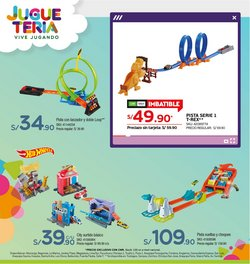 Ofertas de Hot Wheels en Tottus
