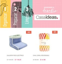Ofertas de Hogar y muebles en el catálogo de Casaideas ( 2 días más)