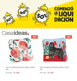 Ofertas de Hogar y muebles en el catálogo de Casaideas ( Vence mañana)