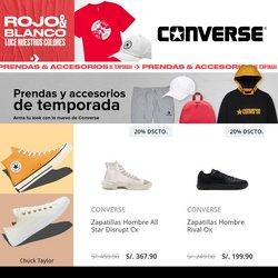 Ofertas de Deporte en el catálogo de Converse ( 2 días más)