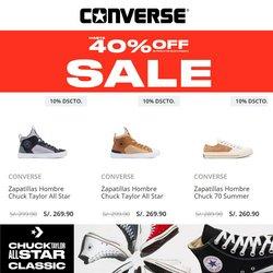 Catálogo Converse ( Publicado ayer)