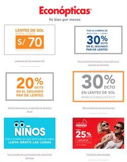 Ofertas de Salud y Farmacias en el catálogo de Econópticas en Huacho ( Más de un mes )