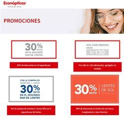 Ofertas de Salud y Farmacias en el catálogo de Econópticas en Arequipa ( Más de un mes )