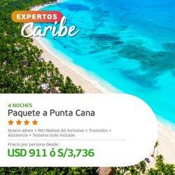 Ofertas de Viajes y ocio en el catálogo de Viajes Falabella ( Vence hoy)