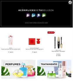 Ofertas de Perfumerías y belleza en el catálogo de Perfumerías Unidas en Arequipa ( 9 días más )