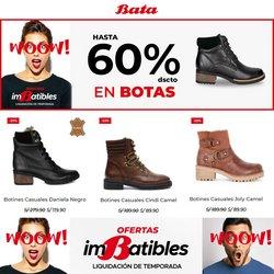 Ofertas de Ropa, zapatos y complementos en el catálogo de Bata ( Vence hoy)