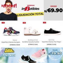 Ofertas de Ropa, zapatos y complementos en el catálogo de Bata ( Vence mañana)