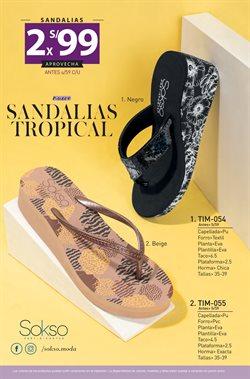 Ofertas de Sandalias en Sokso