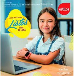 Ofertas de regreso a clases en el catálogo de Estilos ( 12 días más)