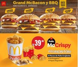 Ofertas de Restaurantes en el catálogo de McDonald's ( Vence mañana)