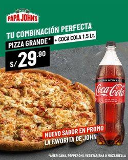 Ofertas de Pizza en Papa John's