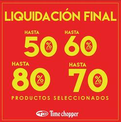 Ofertas de Time Chopper  en el folleto de Lima