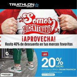 Ofertas de Deporte en el catálogo de Triathlon Sport ( 5 días más)