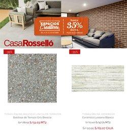 Ofertas de Casa Rosselló en el catálogo de Casa Rosselló ( 9 días más)