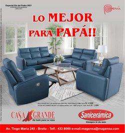 Ofertas de Hogar y muebles en el catálogo de Casa Grande ( 9 días más)