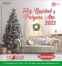 Ofertas de Hogar y muebles en el catálogo de Casa Grande en Huánuco ( Más de un mes )