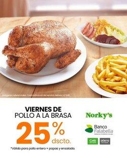 Ofertas de Restaurantes en el catálogo de Norky's ( 5 días más)