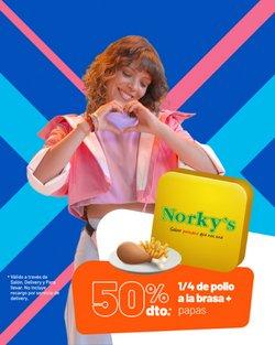 Ofertas de Restaurantes en el catálogo de Norky's ( 10 días más)