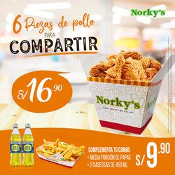 Cupón Norky's en Chiclayo ( Caduca mañana )
