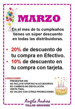 Ofertas de Ángela Andrea  en el folleto de Lima