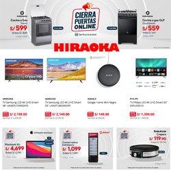Ofertas de Cyber Wow en el catálogo de Hiraoka ( Vence mañana)