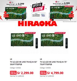 Catálogo Hiraoka ( 2 días más)