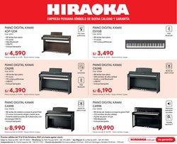 Ofertas de Tecnología y Electrónica en el catálogo de Hiraoka ( Publicado ayer)