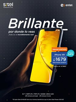 Ofertas de Entel  en el folleto de Ica