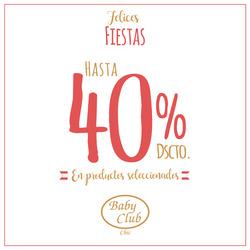 Ofertas de Baby Club  en el folleto de Lima
