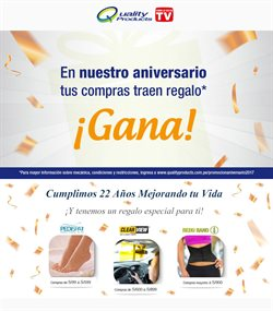Ofertas de Quality Products  en el folleto de Lima