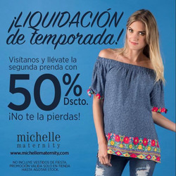 Ofertas de Michelle Maternity  en el folleto de Lima