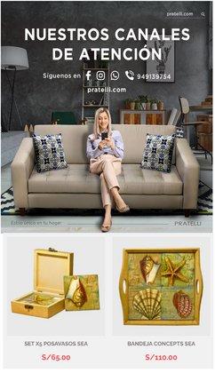 Ofertas de Hogar y muebles en el catálogo de Pratelli ( 30 días más)