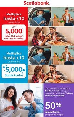 Ofertas de Bancos y seguros en el catálogo de Scotiabank ( 2 días más)