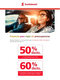 Ofertas de Scotiabank  en el folleto de Cusco