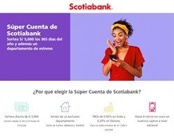 Ofertas de Bancos y seguros en el catálogo de Scotiabank en Piura ( Más de un mes )