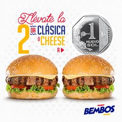 Ofertas de Bembos  en el folleto de Lima