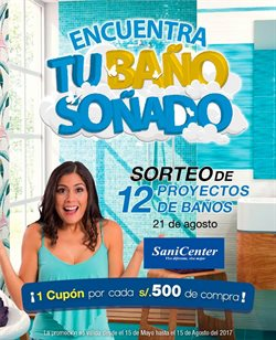 Ofertas de Sanicenter  en el folleto de Lima